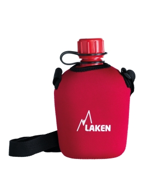 LAKEN Pluma 1 L. with neoprene cover and strap