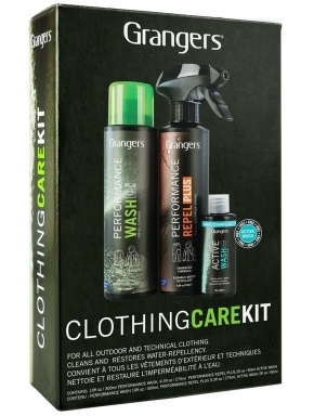 GRANGERS Clothing Clean And Proof Kit