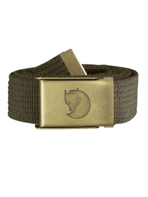 FJALLRAVEN Canvas Brass Belt 3см