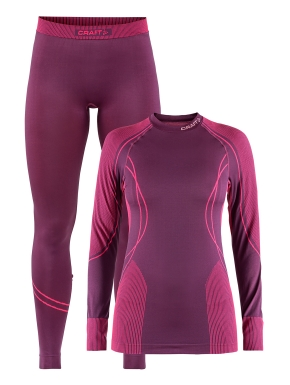 CRAFT Baselayer Seamless Zone Set Woman