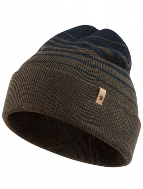 FJALLRAVEN Classic Striped Knit Hat