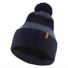 FJALLRAVEN Byron Striped Pom Hat