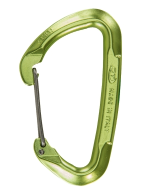 CLIMBING TECHNOLOGY Lime W Wire Gate colour