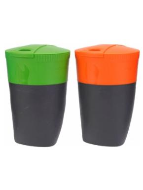 LIGHT MY FIRE Pack-up-Cup, 4-pack