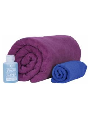 SEA TO SUMMIT Tek Towel  Wash Kit M
