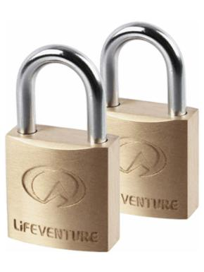 LIFEVENTURE Mini Padlocks 2-Pack