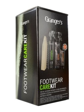 GRANGERS Footwear Clean And Proof Kit