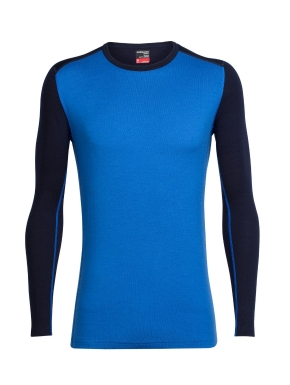 ICEBREAKER Mens Tech Top LS Crewe