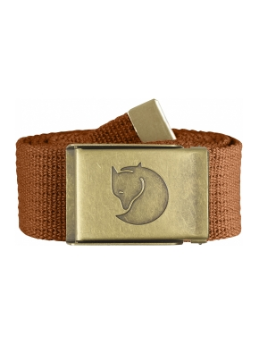 FJALLRAVEN Canvas Brass Belt 4 cm