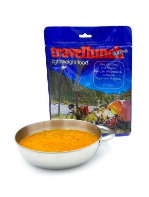 TRAVELLUNCH Рис Rice with Beef and Pepper Sauce 125 г 250 г - 2 порции