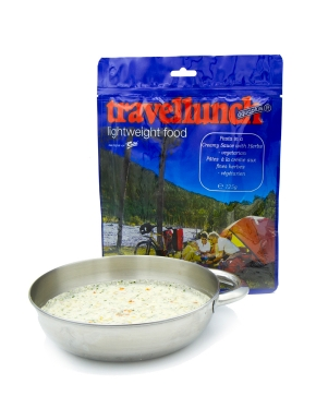 TRAVELLUNCH Паста Pasta in a Creamy Sauce with Herbs 125 г 250 г - 2 порции